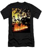 Fire Water Men's T-Shirt (Athletic Fit)