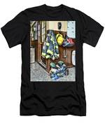 Fireman - Always Ready Men's T-Shirt (Athletic Fit)