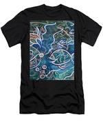 Fish Family Men's T-Shirt (Athletic Fit)
