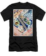 Fishing Over The Object Men's T-Shirt (Athletic Fit)