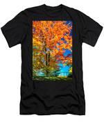 Flaming Maple - Paint Men's T-Shirt (Athletic Fit)