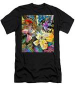 Fleurs De Lys 02 Men's T-Shirt (Athletic Fit)
