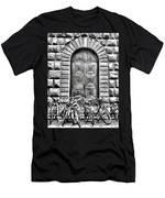 Florence Street Scene Men's T-Shirt (Athletic Fit)