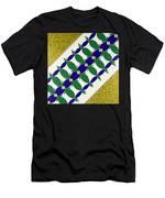 Flower Bed Men's T-Shirt (Athletic Fit)