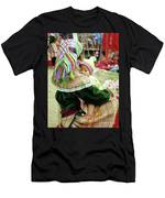 Flower Hmong Mother And Baby 02 Men's T-Shirt (Athletic Fit)