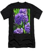 Flowering Purple Hyacinthus Flower Bulb Blooming Men's T-Shirt (Athletic Fit)