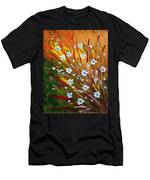 Flowers Field Men's T-Shirt (Athletic Fit)