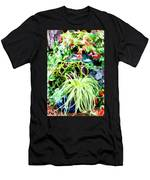 Flowers In Garden 3 Men's T-Shirt (Athletic Fit)