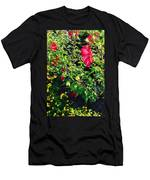 Flowers Of Bethany Beach - Hibiscus And Black-eyed Susams Men's T-Shirt (Athletic Fit)