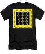 Flowers Pattern Men's T-Shirt (Athletic Fit)