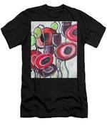 Foggy Poppy Men's T-Shirt (Athletic Fit)