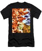 Forest Of Fall Colors Men's T-Shirt (Athletic Fit)