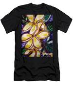 Frangipani In The Tropics  Series 1 Men's T-Shirt (Athletic Fit)