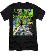 Freeway Park Waterfall 3 Men's T-Shirt (Athletic Fit)