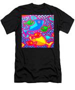 Funky Fish Men's T-Shirt (Athletic Fit)
