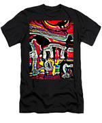 Funky Pop-16 Men's T-Shirt (Athletic Fit)