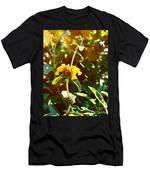Garden Yellow Men's T-Shirt (Athletic Fit)