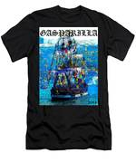 Gasparilla 2013 Poster Work A Men's T-Shirt (Athletic Fit)