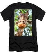 Giraffe Interest Men's T-Shirt (Athletic Fit)
