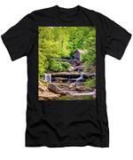 Glade Creek Grist Mill 3 - Paint Men's T-Shirt (Athletic Fit)