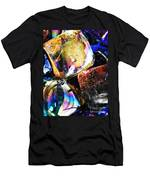 Glass Abstract 114 Men's T-Shirt (Athletic Fit)