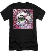 Glass Abstract 515 Men's T-Shirt (Athletic Fit)