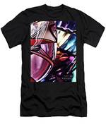 Glass Abstract 523 Men's T-Shirt (Athletic Fit)