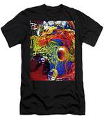 Glass Abstract 630 Men's T-Shirt (Athletic Fit)
