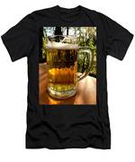 Glass Of Beer Men's T-Shirt (Athletic Fit)