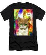 Goddess Santia As A Cat 687 Men's T-Shirt (Athletic Fit)