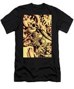 Gold Aquarium Men's T-Shirt (Athletic Fit)