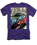 Gondolas Fresco  Men's T-Shirt (Athletic Fit)