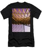 Graceful Grid Men's T-Shirt (Athletic Fit)