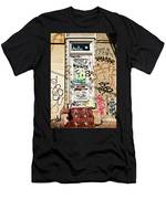 Graffiti Doorway New Orleans Men's T-Shirt (Athletic Fit)