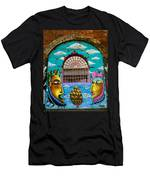 Graffiti Window Men's T-Shirt (Athletic Fit)