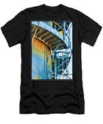 Grain Tower Stairs Men's T-Shirt (Athletic Fit)