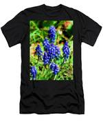 Grape Hyacinths  Men's T-Shirt (Athletic Fit)