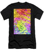 Graphic Rainbow Colorful Garden Men's T-Shirt (Athletic Fit)