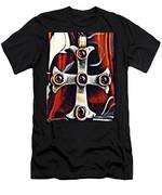 Greek Cross Men's T-Shirt (Athletic Fit)