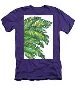 Green Tropic  Men's T-Shirt (Athletic Fit)