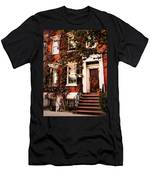 Greenwich Village Charm Men's T-Shirt (Athletic Fit)