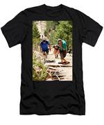 Grinding It Out On The Manitou Incline And Barr Trail Men's T-Shirt (Athletic Fit)