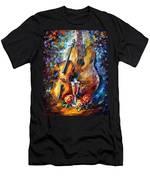 Guitar And Violin Men's T-Shirt (Athletic Fit)