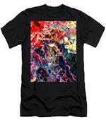 Bright On Black Men's T-Shirt (Athletic Fit)