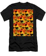 Halloween Abstract - Happy Halloween Men's T-Shirt (Athletic Fit)