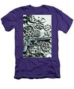 Handguns And Gears Men's T-Shirt (Athletic Fit)