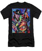 Hat And Guitar Men's T-Shirt (Athletic Fit)