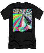 Hazelnut Abstract Men's T-Shirt (Athletic Fit)