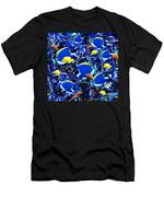 Here, Fishy, Fishy Men's T-Shirt (Athletic Fit)