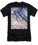 Hills And Valleys Aerial Men's T-Shirt (Athletic Fit)